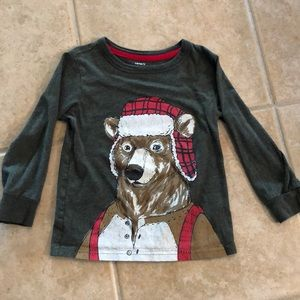 Carter's Winter Bear Long-sleeved Shirt